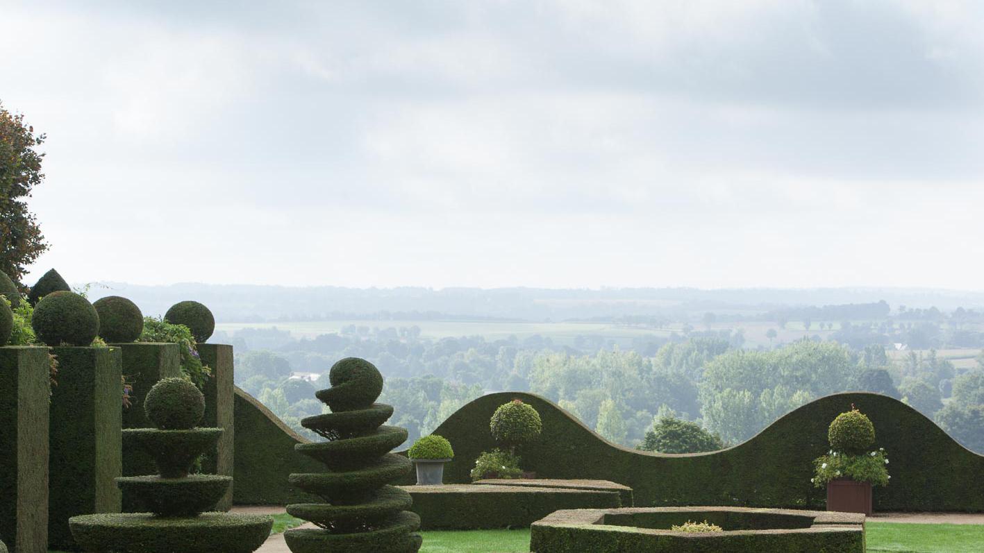 jardins de la ballue en Bretagne proche du Mont Saint Michel