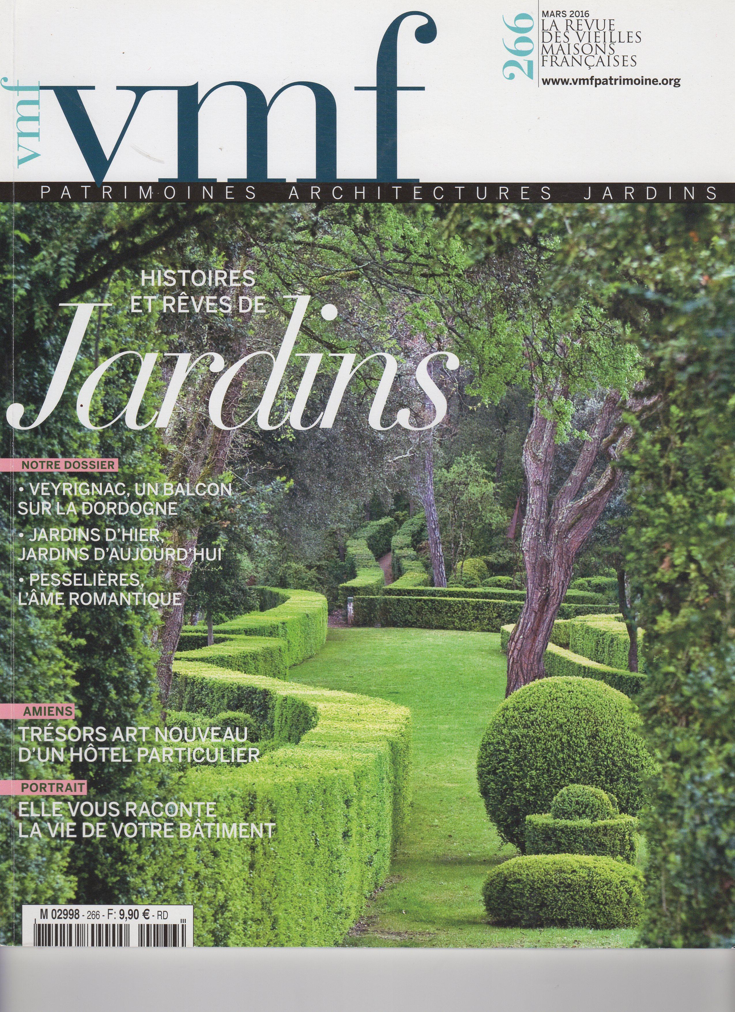 la presse parle des jardins de la Ballue classés et historique incoutournables en Bretagne