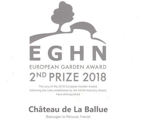 2nd price EGHN - Jardins de la Ballue