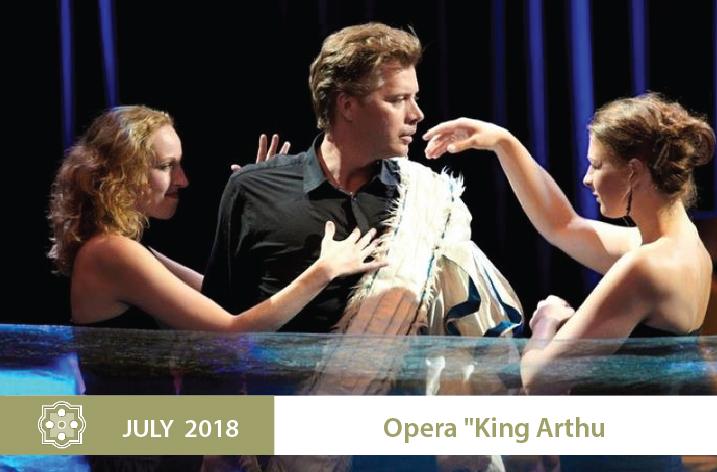 opera King Arthur la ballue