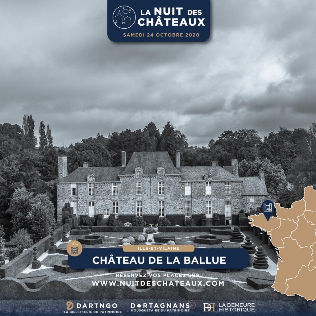 La Nuit des Châteaux au château de la Ballue